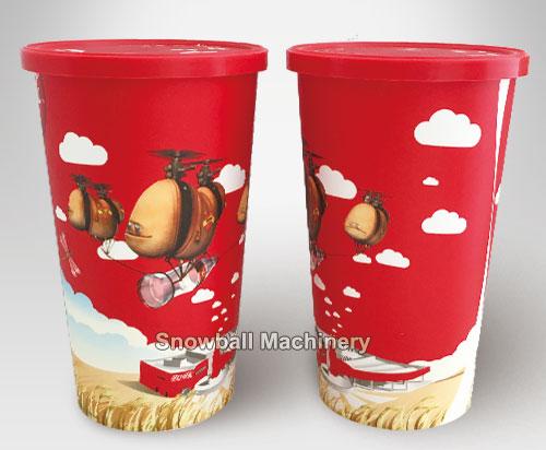 IML 455 ml Vaso de bebida fría con tapa, 16oz vaso plastico de bebida fría