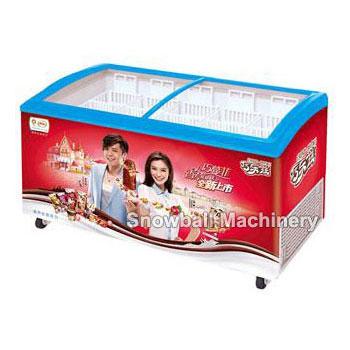 CE Aprobado Comercial Refrigerador de puerta de vidrio