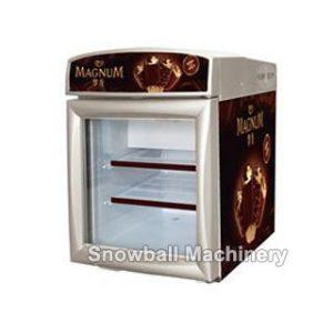 Congelador para caja, Comercial refrigerador con exhibición