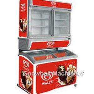 Comercial Congelador, Refrigerador de Helado