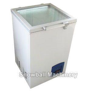 Congelador horizontal con apertura por arriba, Mini equipo de refrigeración
