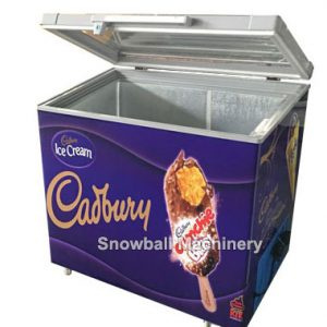 300L Máquina refrigeración, Congelador con apertura por arriba