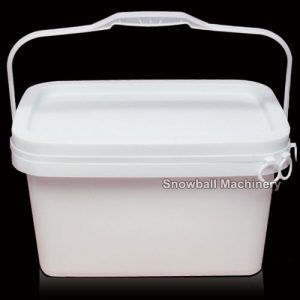 5L Rectangle Caja plastica de helado