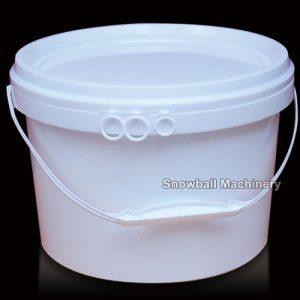 5L Caja Plástica Redonda de helado PP, HDPE