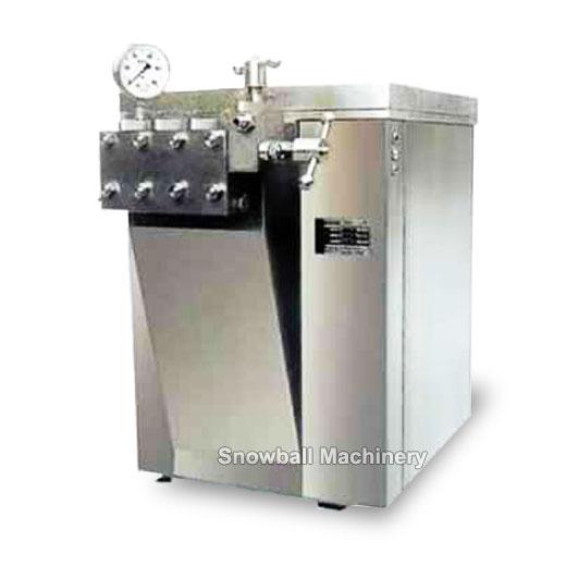 Homogeneizador de helado