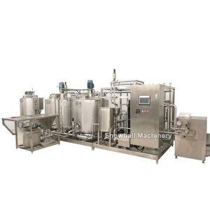 Planta de Pro-Mix Esterilización, Planta de helado