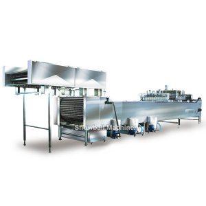 Fabricadora de helado con palito, Máquina de Paleta Industrial