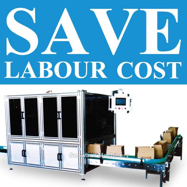Quiere ahorrar su costo de empaque? Snowball Machinery le ayudará