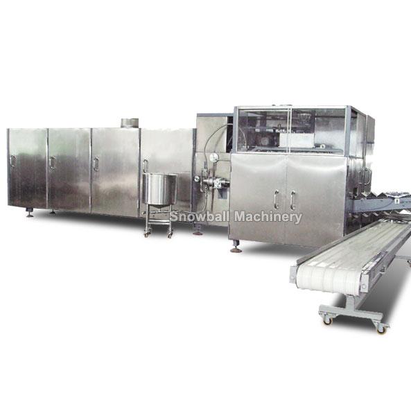 Productora de cono horneado, Fabricadora de cono, Equipamento de cono