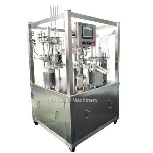 ice cream rotary filler filling machine