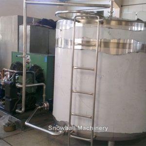 Tanque Maduradora de Auto Refrigeración, Tanque maduradora de Helados, Tanque de Preparación de Mezcla de Helados, Tanque mezcladora de helados