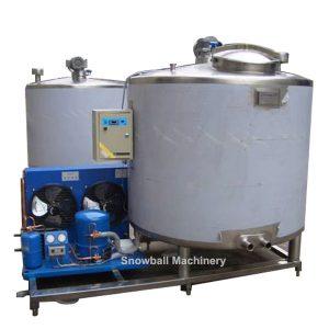 Auto refrigeración de Tanque de Maduradora de Helados, Máquina de Preparación de Mezcla de Helados, Tanque Maduradora con Compresor