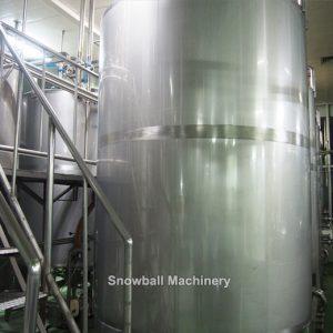 5000L Tanque Maduradora de Helados para Fábrica de Helados, Máquina de Preparación de Mezcla de Helados, Tanque Maduradora de Helados