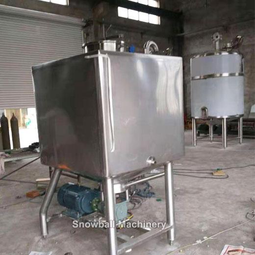 Mezcladora de Alto Cizallamiento para Fábrica de Helados