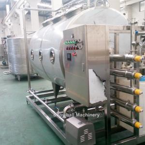 1000L 2000L CIP sistema, Equipamiento de preparación de mezcla de heladso, CIP sistema de limpieza, Limpieza en sitio