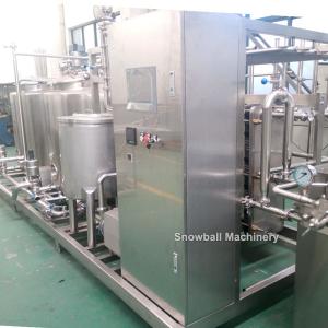 HTST sistema de helados, Planta de pasteurización de helados, Máquina de pro mezcla de helados,