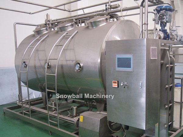 300L 600L CIP, Limpieza en sitio, Máquina para limpiar equipos de helados