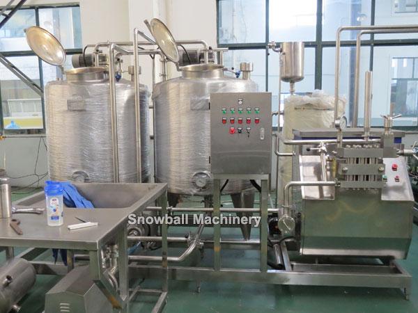 300L Máquina para mezclar helados, Mezcladora de helados
