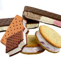 fabricadora de sandwich helados